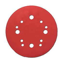 5-inch Coarse Finish 80 Grit Hook and Loop Random Orbital Sand Paper (ROS) Disc for Wood/Metal/Plastic Sanding (15 Pack)