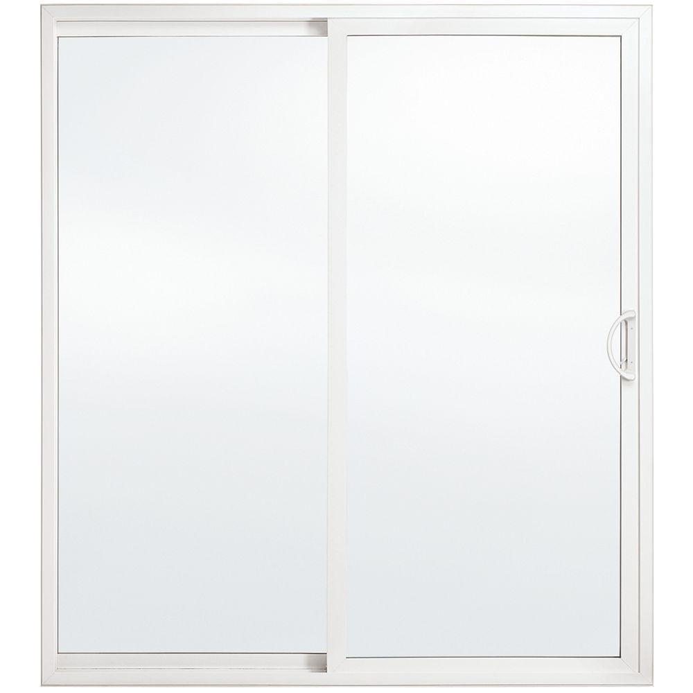JELD-WEN Windows & Doors Porte-patio haut de gamme de, 5 pi. en vinyle, verre triple Low-E, ouv. vers la gauche / WC - ENERGY STAR®