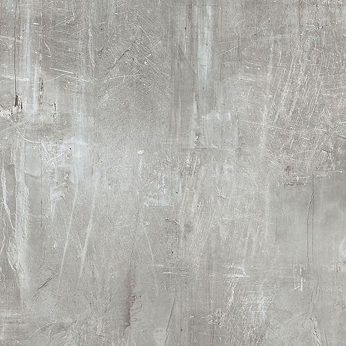 Couvre-plancher de lattes de vinyle de luxe Pierre grattée de 8,7po x 47,6po (20,06pi2/boîte)