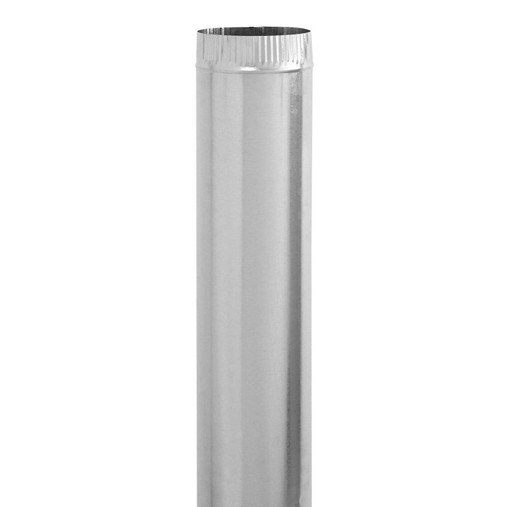 Imperial 6 x 30 Inch Galvanized Pipe 30 gauge