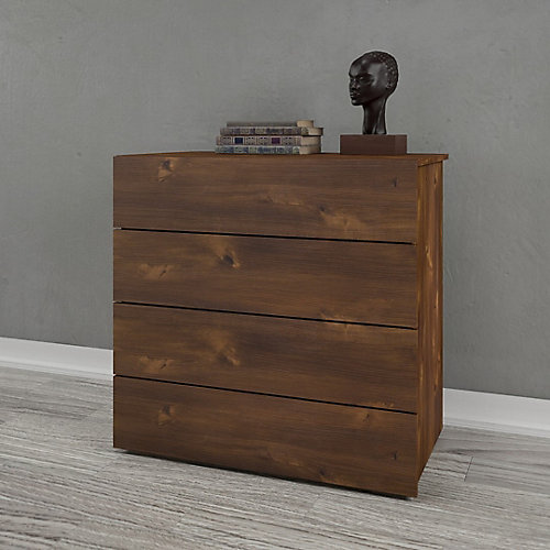 Nocce 4 Drawer Chest, Truffle