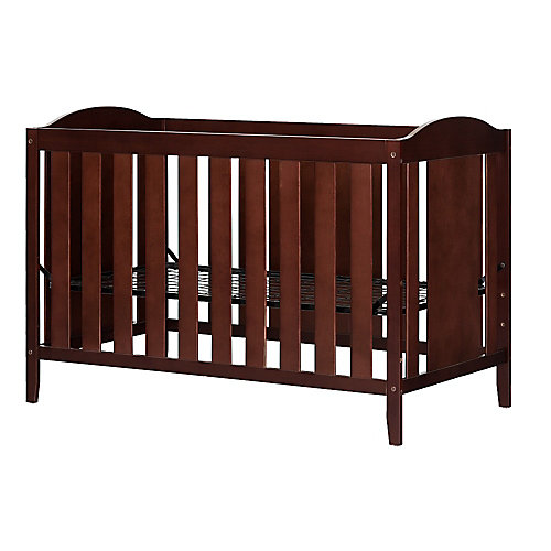 Angel Crib with Toddler rail, Royal Cherry