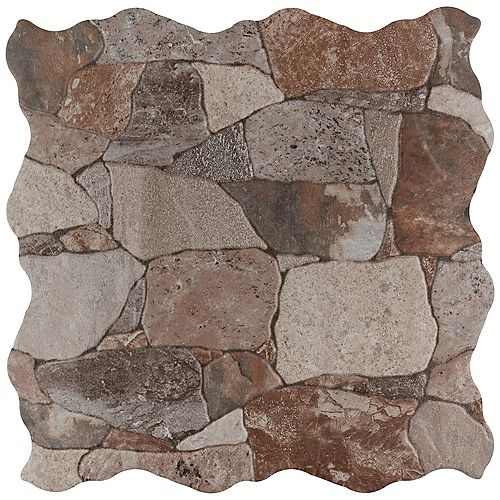 Attica Gris 16-7/8-inch x 16-7/8-inch Ceramic Floor and Wall Tile (14.15 sq. ft. / case)