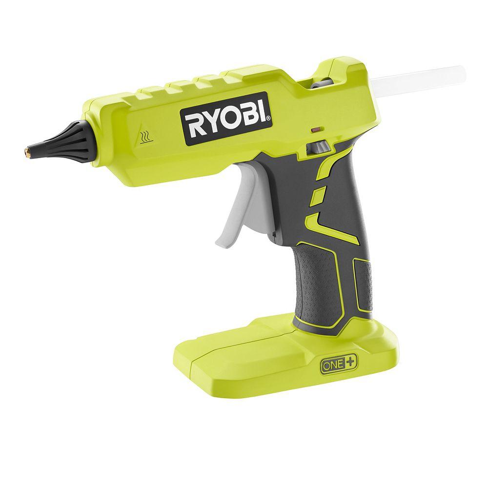 RYOBI 18V ONE+ Cordless Glue Gun Kit w/ Battery & Charger