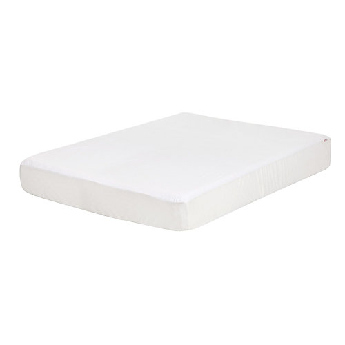 Somea White Waterproof Mattress Cover, Full Size