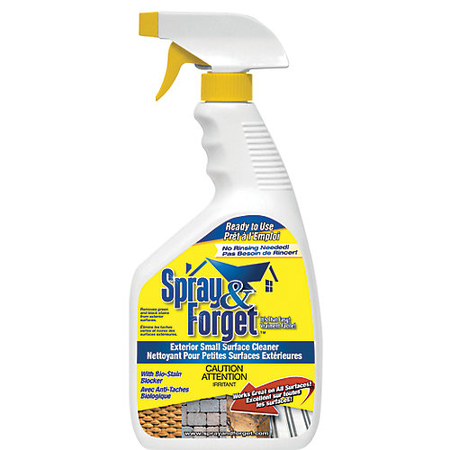 Exterior Small Surface Cleaner w/ Spray Trigger, 32 oz