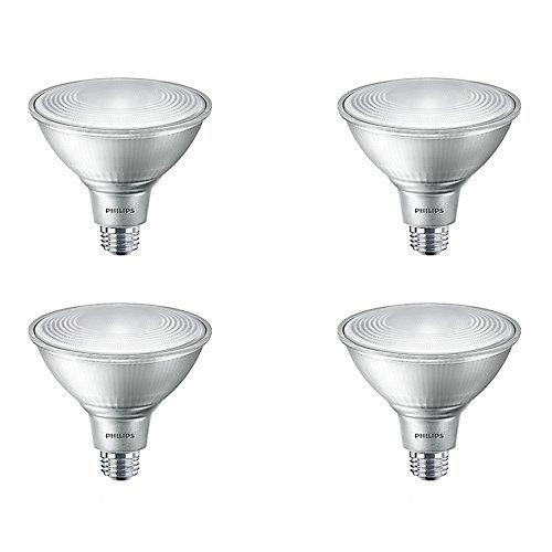 12W=90W Bright White  PAR38 LED Light Bulb (4-pack)