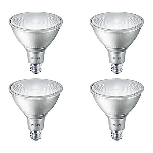 90W Equivalent Glass Daylight (5000K) PAR38 LED Light Bulb ENERGY STAR® (4-Pack)