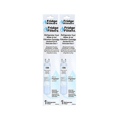 Frigidaire ULTRAWF Replacement Refrigerator Water & Ice Filter (2-Pack)
