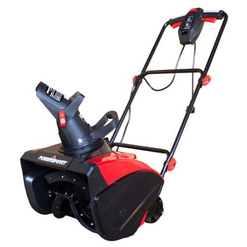 18-inch 15 Amp Corded Electric Snowblower