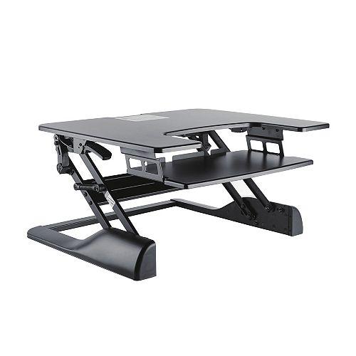 Sit-Stand Desktop Workstation Stand