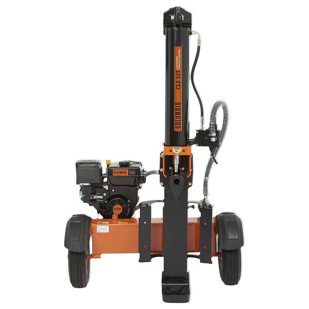 Columbia CLS 33T 277cc Columbia OHV Engine Log Splitter with 25-inch Log Capacity