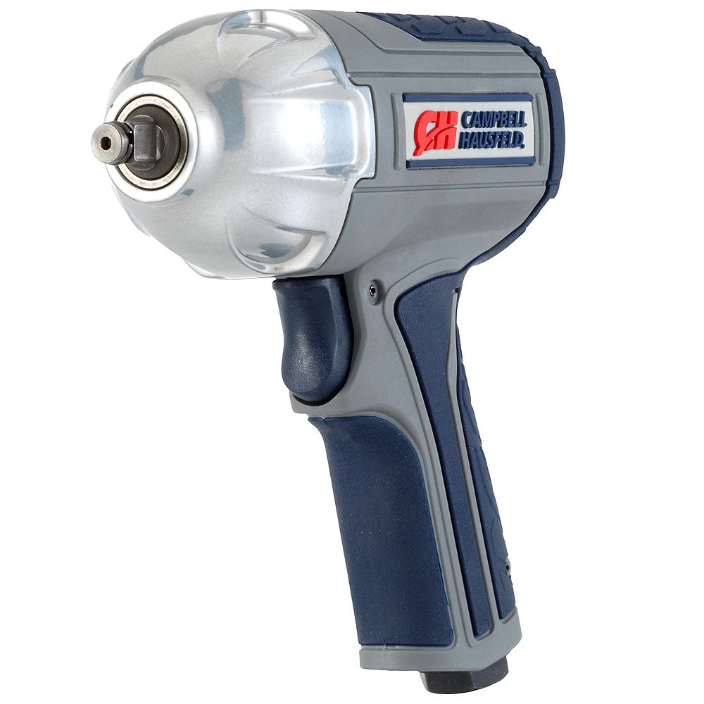 Campbell Hausfeld GSD Air Impact Wrench, Twin Hammer 3/8 inch w/ Composite Body & Comfort Grip
