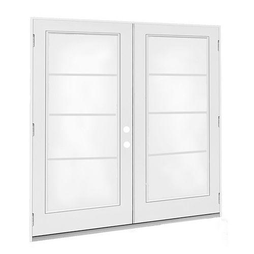 6 ft. French Door, 4 Lite door glass, Low E argon, LH, outswing 4 9/16 East