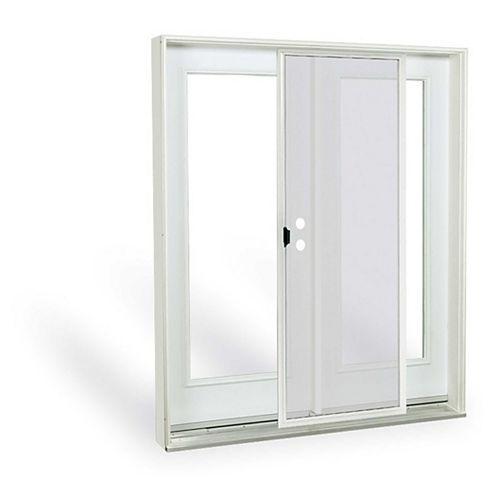 JELD-WEN Windows & Doors 6 ft. 1 Lite Low-E Argon-Filled Glass Left-Hand Inswing French-Door Patio Door 7 1/4 East
