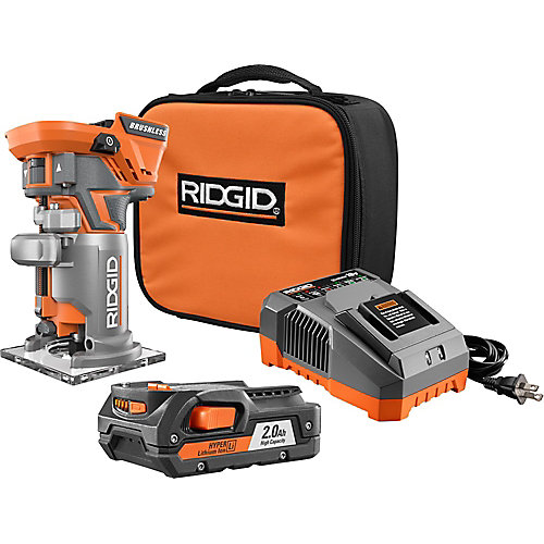 18V GEN5X Li-Ion Brushless Cordless Compact Router Kit with (1) 2.0Ah Battery and Charger