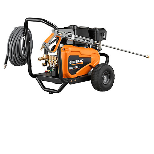 3,800 PSI 3.2-GPM Belt Drive Pro Power Gas Pressure Washer