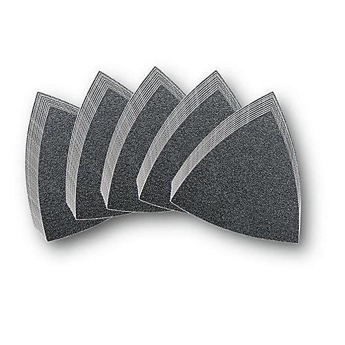Triangular Velcro Sandpaper (Assorted 50-Pack)