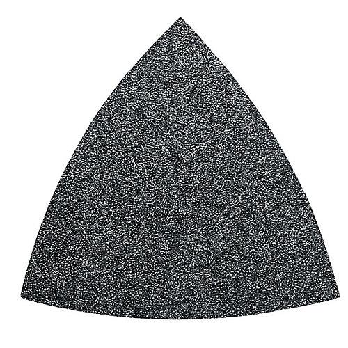 Triangular Velcro Sandpaper - alu oxide 36 grit - (50-Pack)
