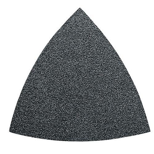 Triangular Velcro Sandpaper - alu oxide 60 grit - (50-Pack)