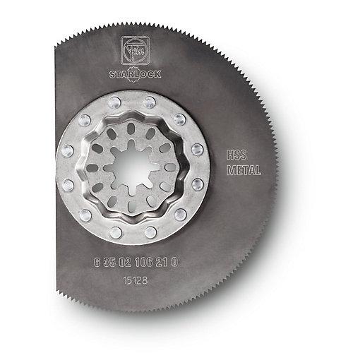 Starlock Segment HSS Saw Blade Long-Life BIM 3-1/8 inch