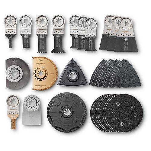 Accessoires de rénovation StarlockPlus avec coffret de rangement, 34pièces