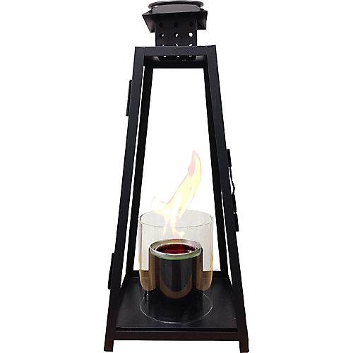Grande lanterne de jardin - Noire