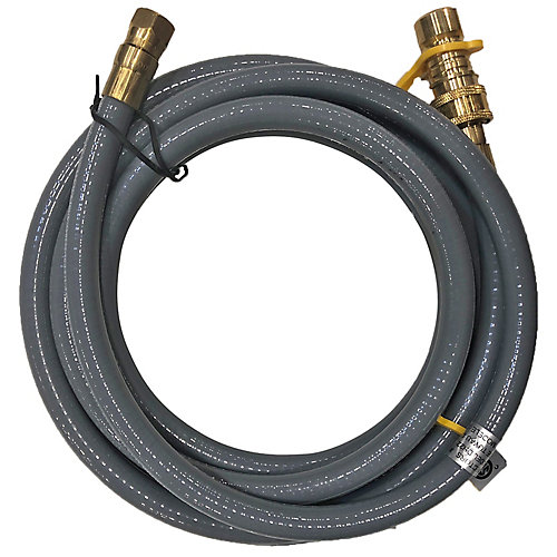 Natural Gas Hose with Quick Connect