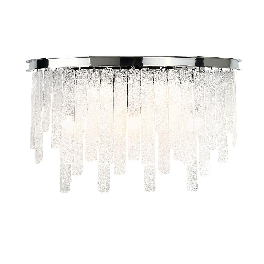 Eurofase Candice Collection, 5-Light Chrome Bath Bar