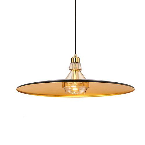 Eurofase Legend Collection, 1-Light Small Gold Pendant