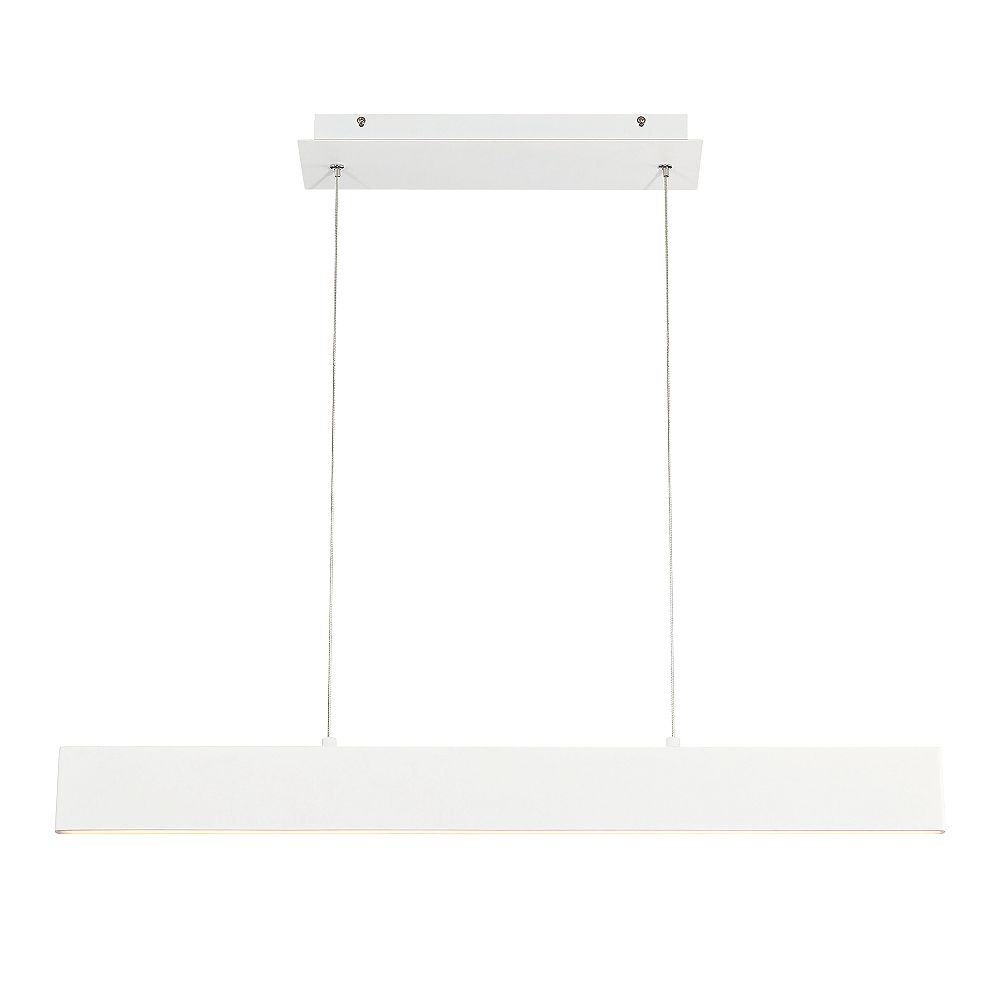 Eurofase Rogers Collection, Small LED White Pendant