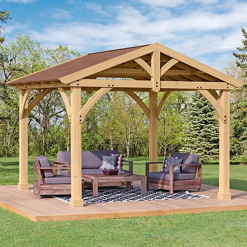 Avery 10 ft. x 12 ft. Pavilion
