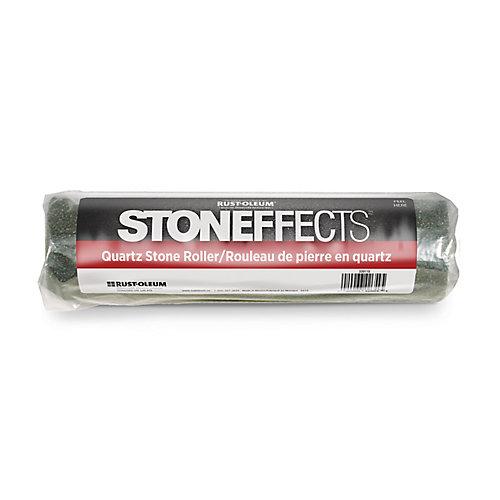 rouleau de pierre en quartz