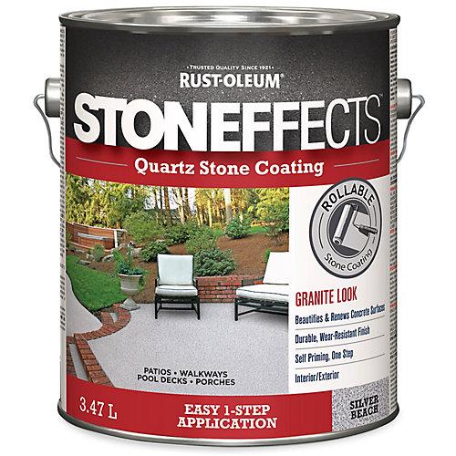 Quartz Stone Coating Silver Beach 3.47L