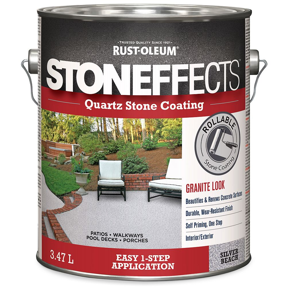 Stoneffects Quartz Stone Coating Silver Beach 3.47L