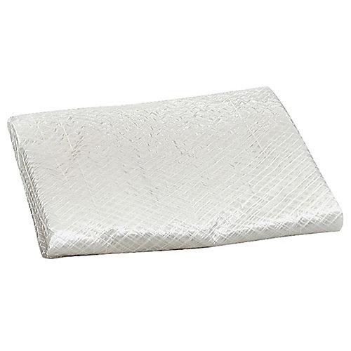 34po x 34po x 30po Housse carrée pour climatiseur - Argent