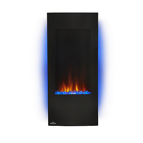 Azure Vertical 38-inch Wall Mount Electric Fireplace