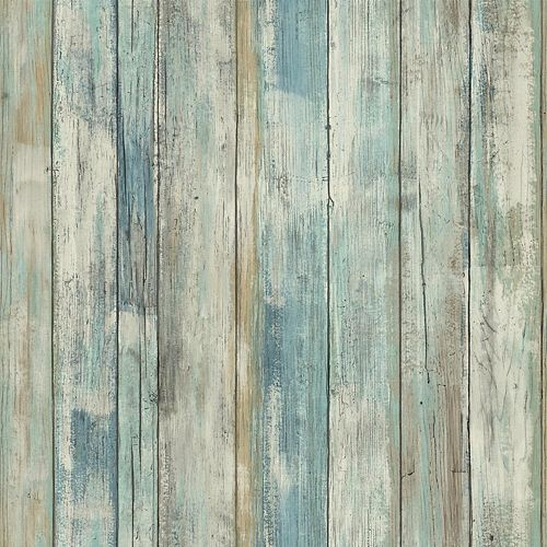 Weathered Planks Peel and Stick Wallpaper