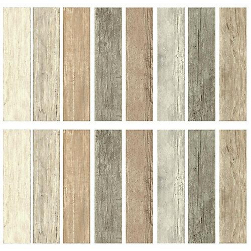 Stickers muraux Distress Barn Wood Plank