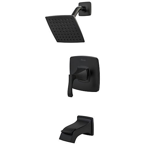 Venturi Tub and Shower in Black
