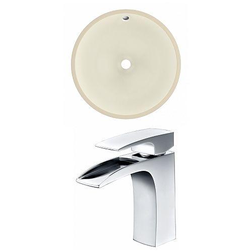 16-in W Undermount Sink Set