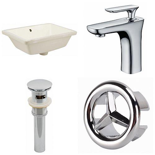 18.25-in W Undermount Sink Set - AI-25944