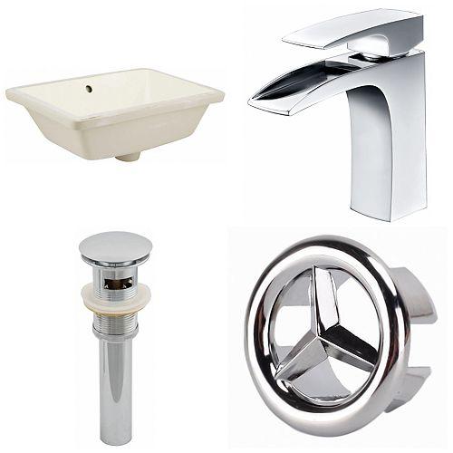 18.25-in W Undermount Sink Set - AI-25945