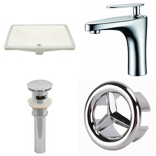 18.25-in W Undermount Sink Set - AI-25978