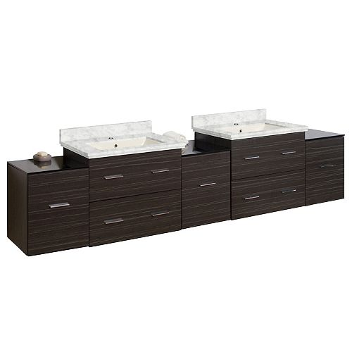 American Imaginations 88.5-in W Vanity Set