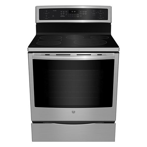 30-inch 5.3 cu.ft. Single Oven Induction Range with Self-Cleaning Convection Oven in Stainless Steel
