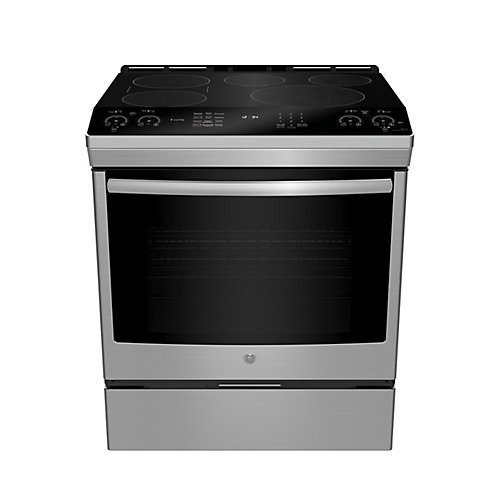 30-inch 5.3 cu. Ft. Slid-in Induction Selfcleaning Range in Stainless Steel