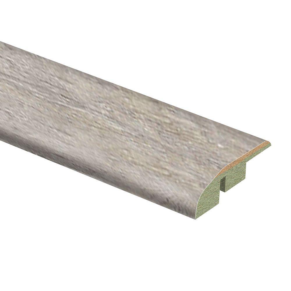 Zamma Folkstone Oak 1/2-inch Thick x 1 3/4-inch Wide x 72-inch Length Laminate Reducer Molding