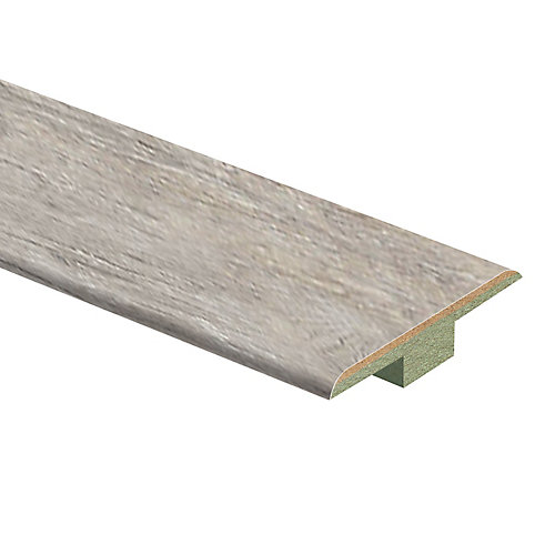 Folkstone Oak 7/16-inch Thick x 1 3/4-inch Wide x 72-inch Length Laminate T-Moulding