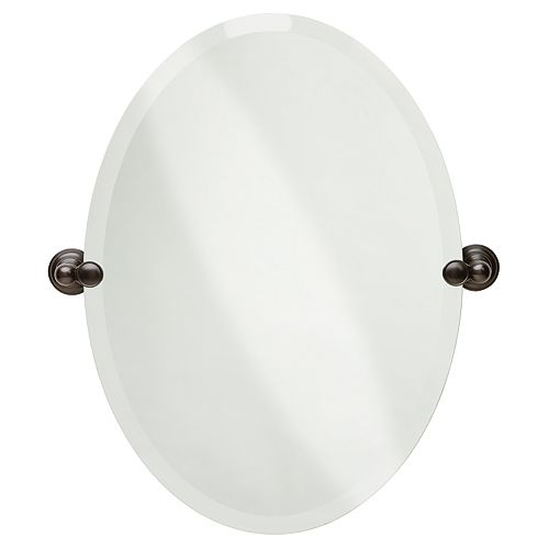 Miroir ovale Providence, Venetian Bronze